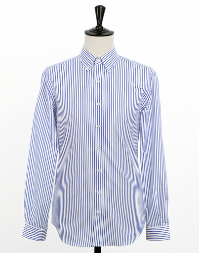 Alpha Striped Oxford
