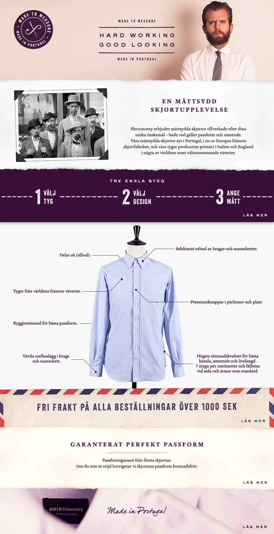 In search of the perfect shirt with the perfect fit